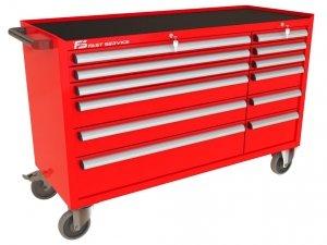 Wózek narzędziowy MEGA z 12 szufladami PM-220-20