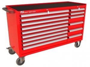 Wózek narzędziowy MEGA z 15 szufladami PM-211-14