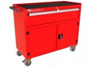 Wózek narzędziowy TRUCK z szufladą i drzwiami PT-232