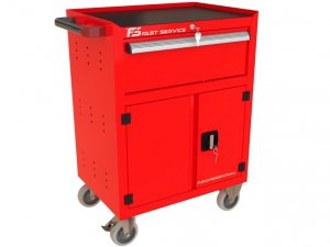 Wózek narzędziowy z szufladą  i drzwiami P-232