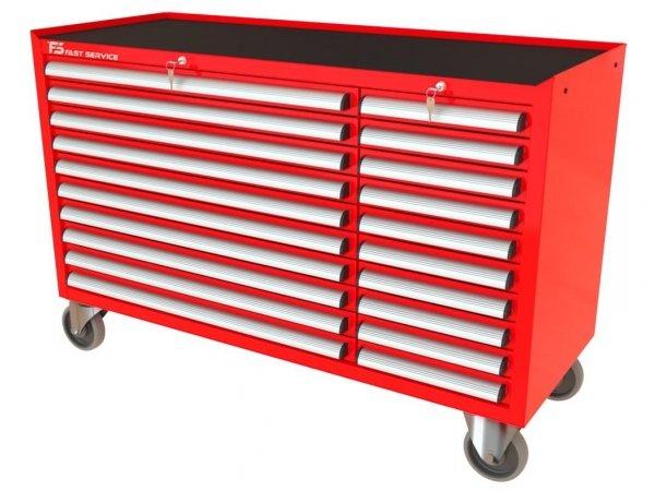 Wózek narzędziowy MEGA z 20 szufladami PM-210-10