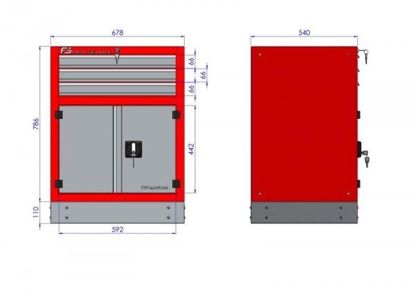 Stół warsztatowy – T-18-30-40-01
