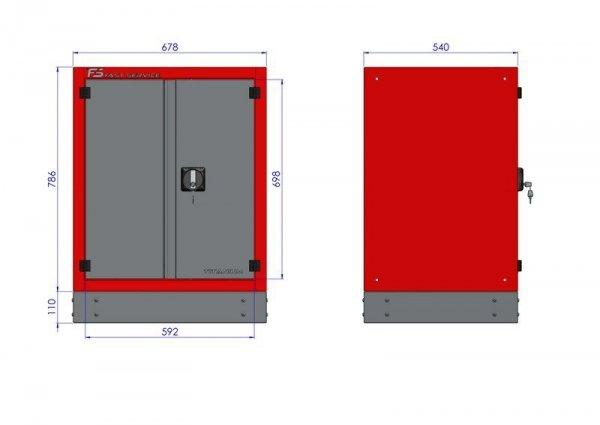 Stół warsztatowy – T-12-40-10-01