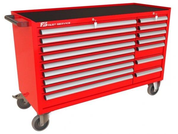 Wózek narzędziowy MEGA z 16 szufladami PM-211-13