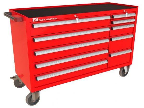 Wózek narzędziowy MEGA z 10 szufladami PM-215-22