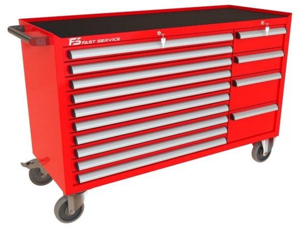 Wózek narzędziowy MEGA z 14 szufladami PM-210-23
