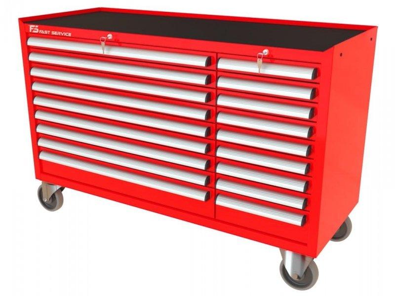 Wózek narzędziowy MEGA z 18 szufladami PM-211-11