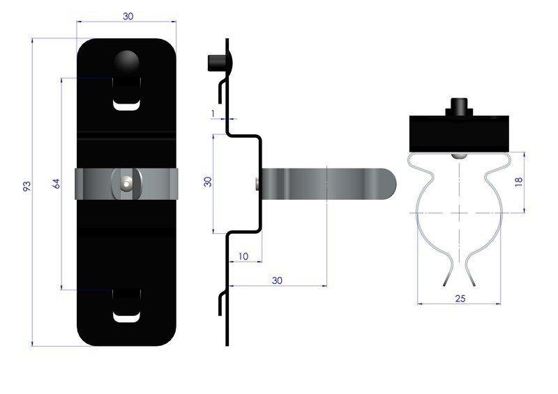 Zawieszka sprężynowa ZW-480100