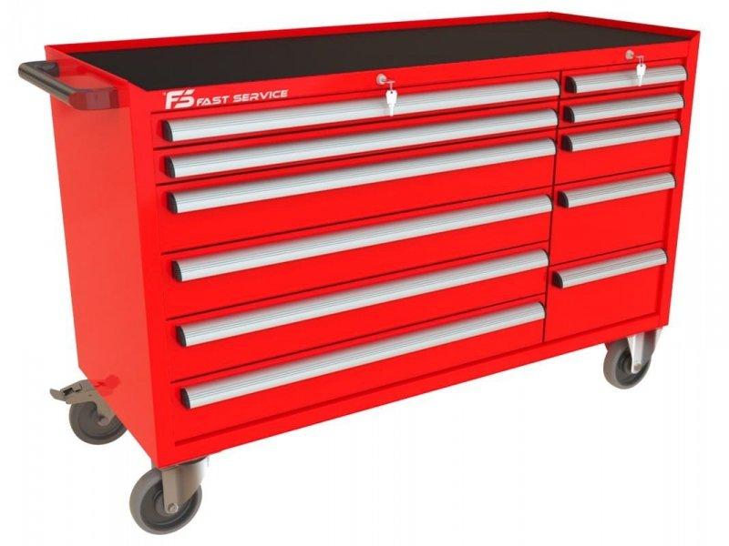 Wózek narzędziowy MEGA z 11 szufladami PM-214-22