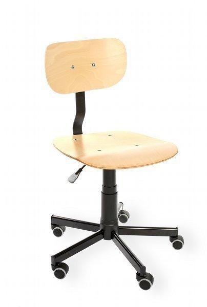 Krzesło spawalnicze Black 02 WH RKW-16