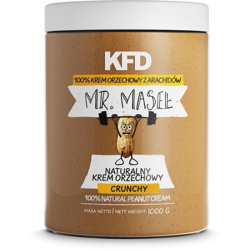 KFD Masło Orzechowe z Arachidów Crunchy 1000 g