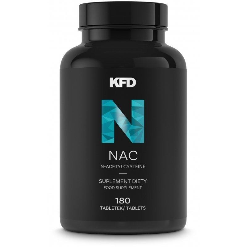 KFD NAC (N-acetylocysteina) 180 tabletek