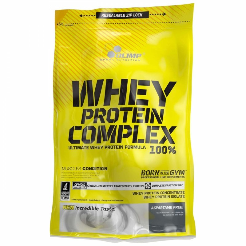 Białko Olimp Whey Protein Complex 2275g Strawberry