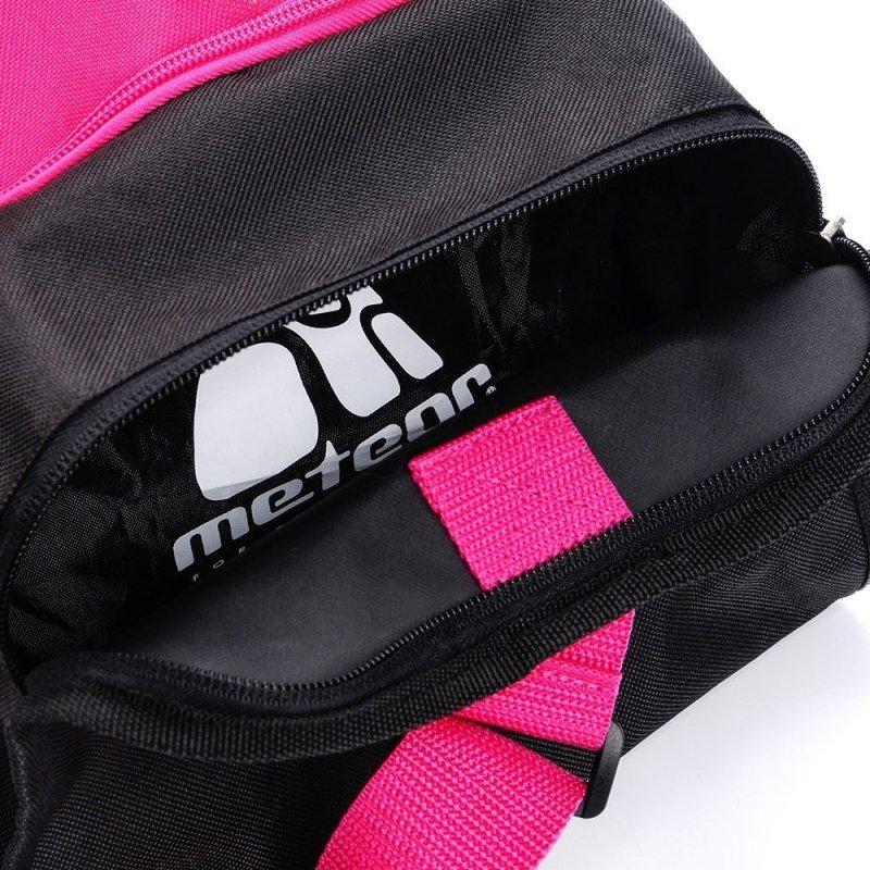 Meteor Torba Fitness Nepr 20l Czarno-Różowy