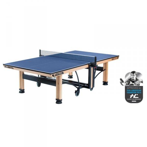 Stół tenisowy COMPETITION 850 WOOD ITTF Niebieski
