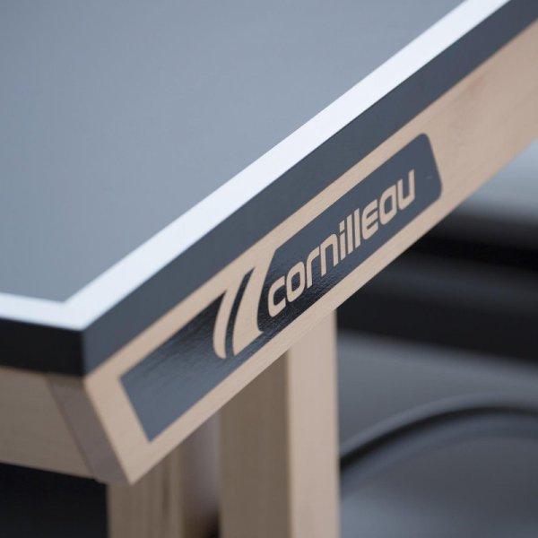 CORNILLEAU STÓŁ TENISOWY COMPETITION 850 WOOD ITTF SZARY
