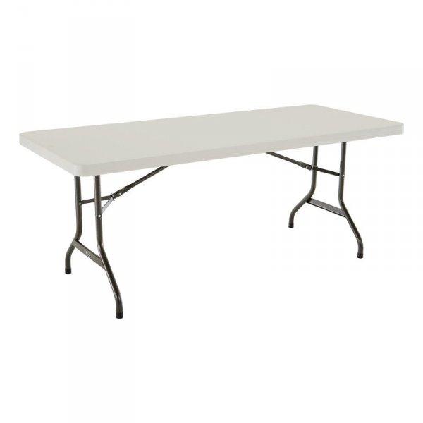 Komercyjny stół składany 183 cm (migdałowy) 4473