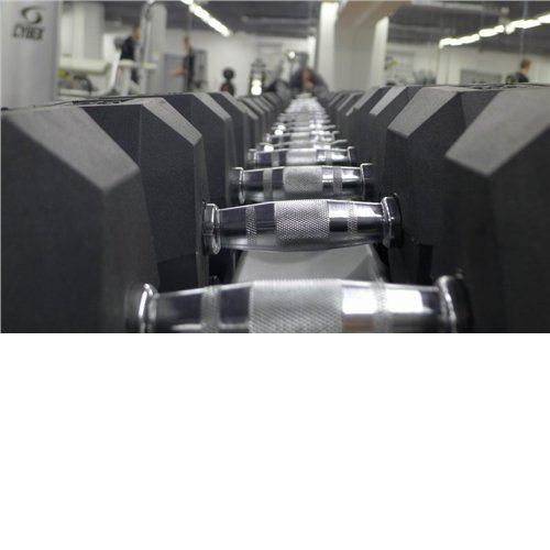ARS ZESTAW HANTLI CHROM/PLASTIK (12,5-40KG) 8 PAR