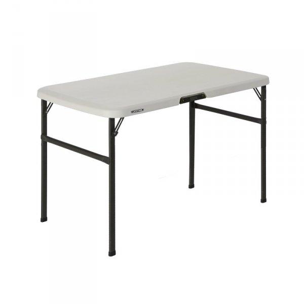 Zestaw dwóch ławek i stołu 106cm (migdałowy, brąz) 80352