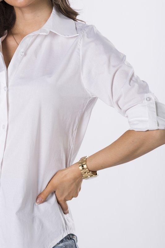 koszula z cekinową aplikacją na plecach