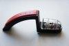 Ceramiczna ostrzałka wodna do noży Global 220 czarno-czerwona MinoSharp