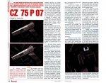 Wiatrówka CZ 75 P-07 Duty Blow Back Dual Tone 4,5 mm (16533)