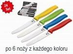 Zestaw 24 kolorowych noży Boker do bułek