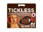Odstraszacz kleszczy dla zwierząt Tickless Brown