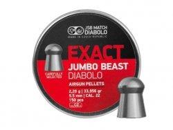 Śrut diabolo JSB Exact Jambo Beast 5,52 mm 150 szt.