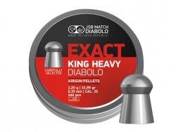 Śrut diabolo JSB Exact King Heavy 6,35 mm 150 szt.