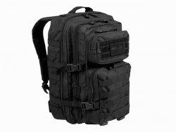 Plecak Mil-Tec Assault duży 51 x 29 x 28 cm czarny