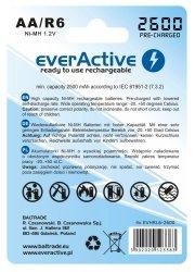 Akumulatorki everActive R6/AA 2500 mAh, 4 szt.