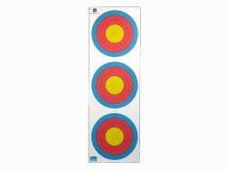 Tarcza papierowa 3x20 cm 5 ringów