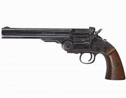 Wiatrówka - rewolwer Schofield 6 Diabolo 4,5 mm - black (18911)