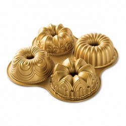 Forma do babek QUARTET GOLD / Nordic Ware