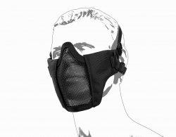 Maska ochronna typu Stalker ASG Metal Mesh - black (19079)
