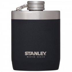 Piersiówka stalowa MASTER - czarna 0.23L / Stanley