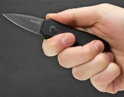 Nóż sprężynowy Kershaw Launch Auto 4 Black DLC 2 (7500BLK)