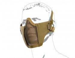 Maska ochronna typu Stalker ASG Metal Mesh - tan (19078)