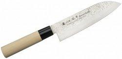 Nóż Santoku 17 cm Satake Nashiji Natural