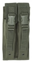 Pokrowiec na magazynki MP5, podwójny, zielony