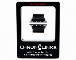 Adapter ChronoLinks 38 mm Black do mocowania zegarka Apple Watch na multitoolu Leatherman Tread