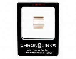 Adapter ChronoLinks 26 mm Silver do mocowania zegarka na multitoolu Leatherman Tread
