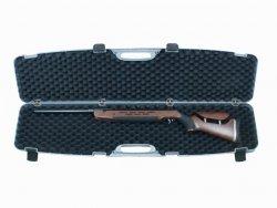 Kufer na broń szary z zamkiem szyfrowym 125x25x11cm