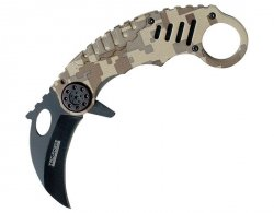 Nóż składany Master Cutlery Tac-Force Karambit Desert Camo (TF-620DM)