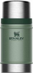 Termos obiadowy stalowy LEGENDARY CLASSIC - zielony 0.7L / Stanley