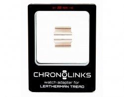 Adapter ChronoLinks 22 mm Silver do mocowania zegarka na multitoolu Leatherman Tread