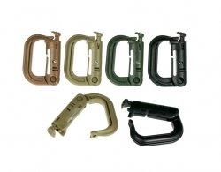 Zestaw karabińczyków Bushmen Grimlock 6 szt. (BU 1CABR KOMPL)