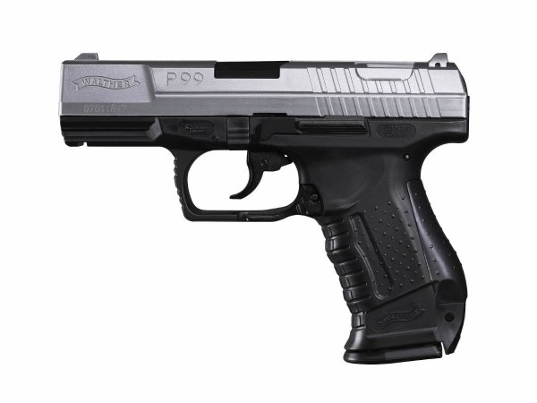 Replika pistolet ASG Walther P99 bicolor 6 mm