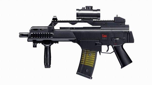 Replika karabinek ASG H&K Heckler&Koch G36C 6 mm